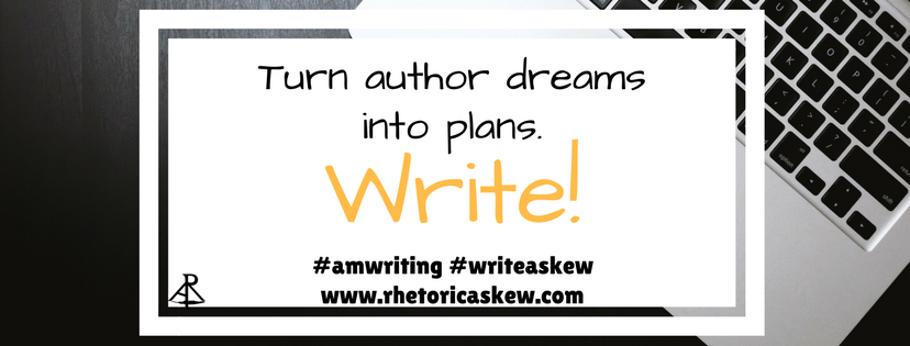 "Write, right now. Turn an idea into ""the end"" in 90 days with the Askew Challenge. www.rhetoricaskew.com"
